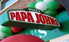 'Papa John's in clinch met franchisenemers'