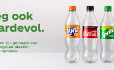 Coca-Cola stapt volledig over op gerecycled plastic
