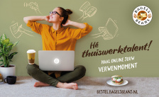 Bagels & Beans start thuiswerk campagne