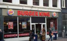 Vegetarische Slager op Whopper Burger King