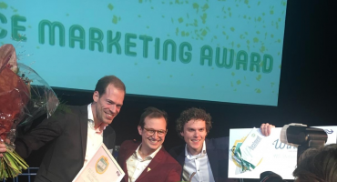 Smullers wint Foodservice Marketing Award met roze fritessaus