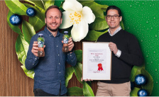 Winnaar Beste Introductie 2020: Fuze Tea Green Tea Blueberry Jasmine